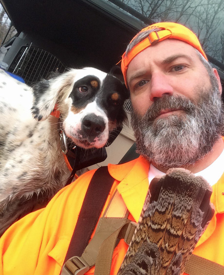 Ben is primarily a grouse and woodcock hunter so he and Franny spent their memorable days in aspen cuts and alder thickets.